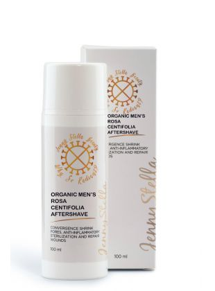 Organic Men's Rosa Centifolia Aftershave